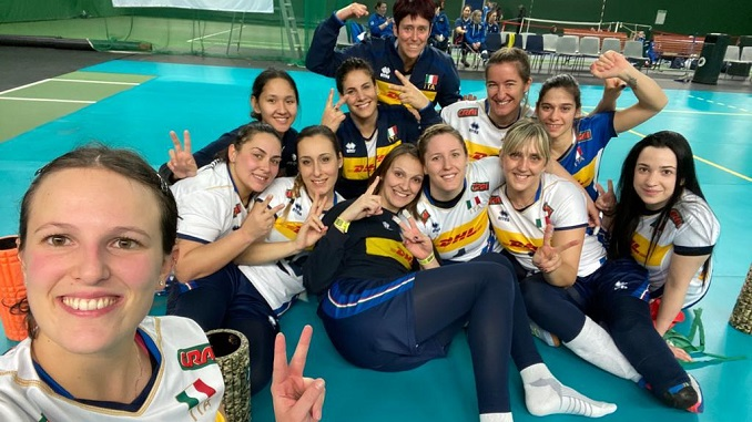La Nazionale Femminile di Sitting Volley in Slovenia | Volley News